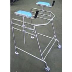 Stainless Steel Bariatric Forearm Walker SWL 350kg
