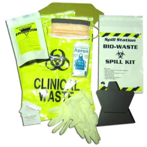Single Use Biohazard Complete Spill Kit