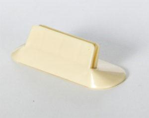 Yellow Menu Clip Holder