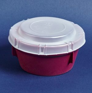 Disposable Lid for Round Bowl