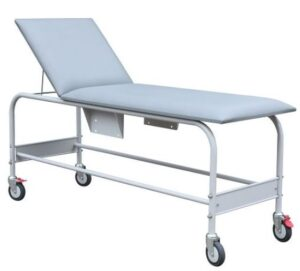 Mobile Examination Couch - Grey
