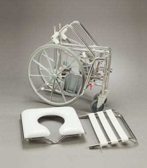 Mobile Shower Commode - Self Propelled