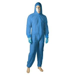 Polypropylene Coverall - Blue