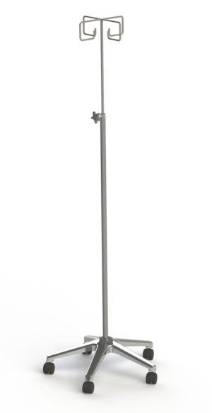 'Carol' Four Prong IV Stand