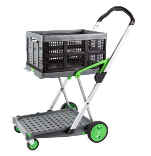 Clax Cart - 2 Tier Collapsible Trolley
