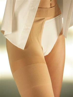 SIGVARIS COTTON THIGH (A-G) WITH WAIST ATTACHMENT CLASS 2 (23-32 MMHG)