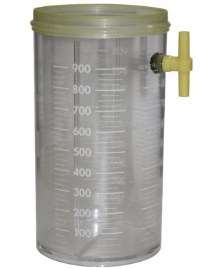 Reusable Canister to suit Disposable Lid & Liner