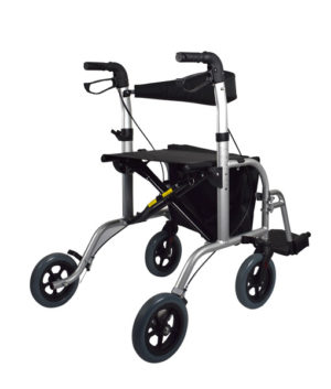 2 in 1 Wheelchair/Rollator