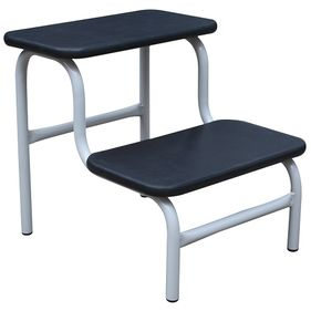 Double Step-Up Stool Black